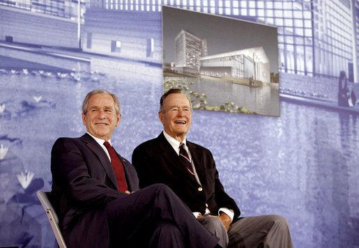 ג׳ורג׳ בוש ובנו